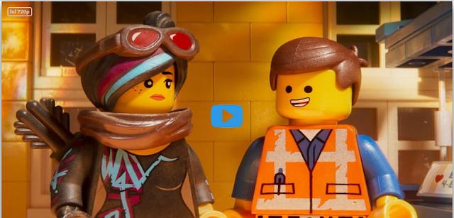 "NEW /""LEGO MOVIE 2/"" BLUE RAPTOR 70835 green eye minifigure figure dinosaur dino"