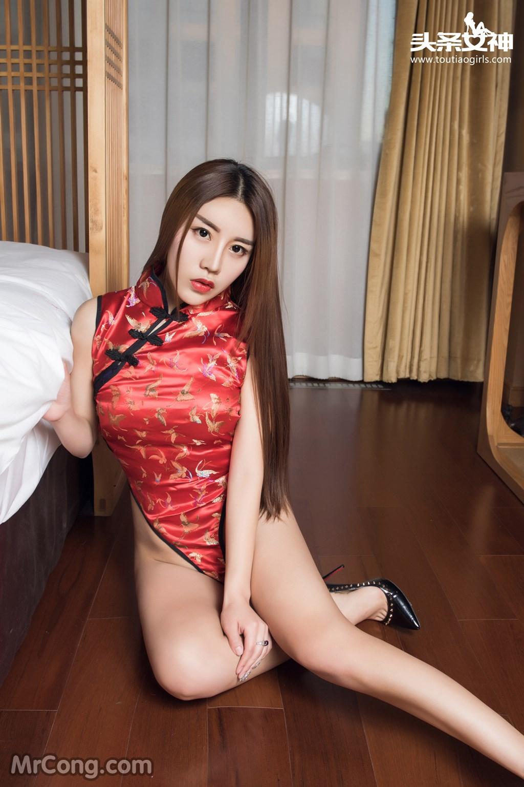 Image MrCong.com-TouTiao-2016-12-13-An-Su-Rui-004 in post TouTiao 2016-12-13: Người mẫu An Su Rui (安苏芮) (18 ảnh)
