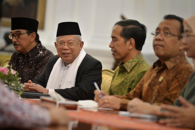 Kiai Ma'ruf Sebut Jokowi Lakukan Amal Saleh, Ini Penjabarannya