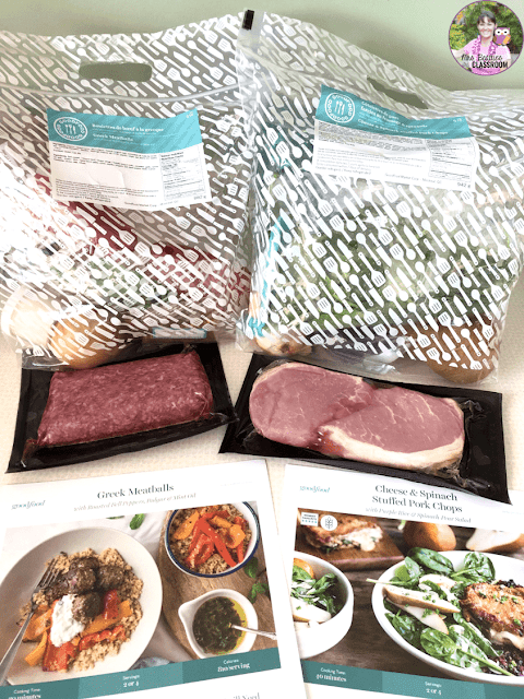 Photo of GoodFood packaging.