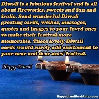 Happy Diwali msg