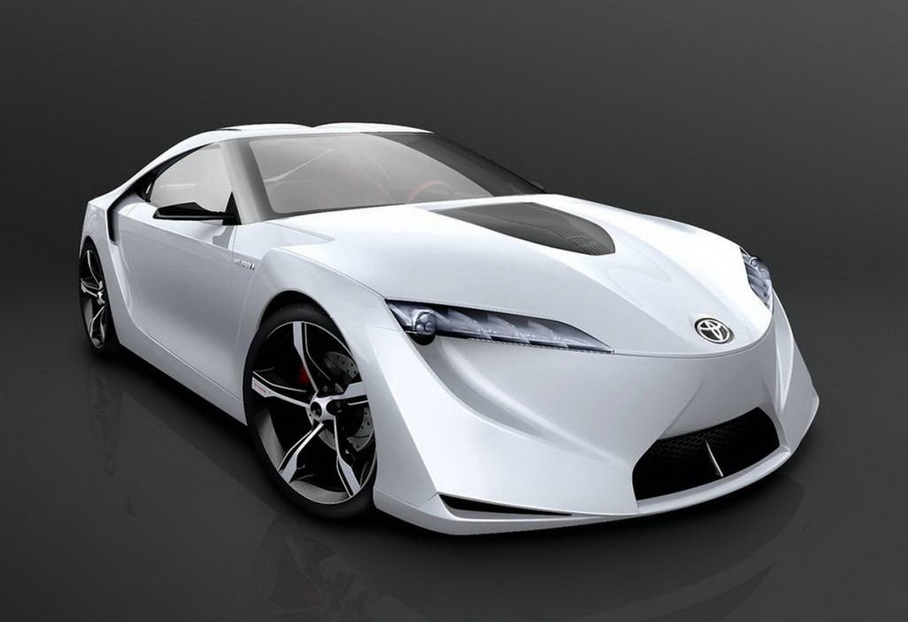 super sport cars 2012 futuristic toyota ft hs hybrid sports concept car integrates ecology and. Black Bedroom Furniture Sets. Home Design Ideas