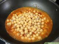 food: fixed cook chole