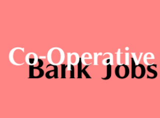 Cooperative Bank Jobs