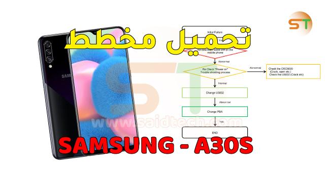 مخطط Samsung A30s SM-A307F-FN-G schematics