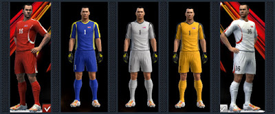 PES 2013 DPR Korea National Football Team GDB by Radymir