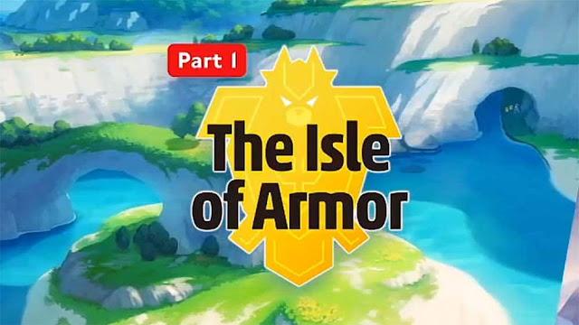 Pokémon Sword & Shield: Novidades referentes à The Isle of Armor