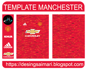 Manchester United 2020-2021 Local (vector free)