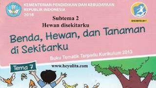 Soal kelas 1 tema 7 Subtema 2