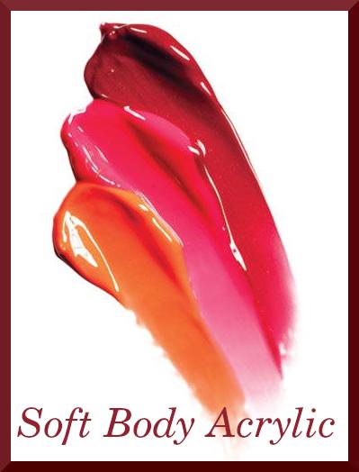 Soft Body Acrylic Paint