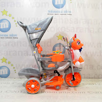 unicorn family tricycle