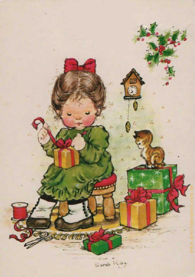Desenho de Sarah Kay - Natal
