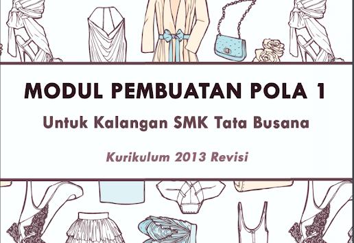 Materi/Modul Pembelajaran Tata Busana SMK Kurikulum 2013