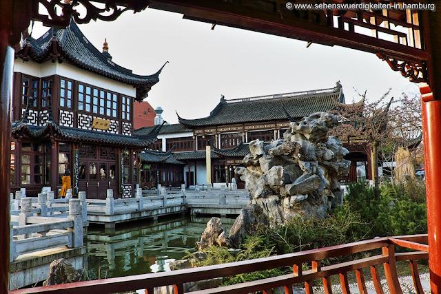 Chinesisches Teehaus Yu Garden Hamburg