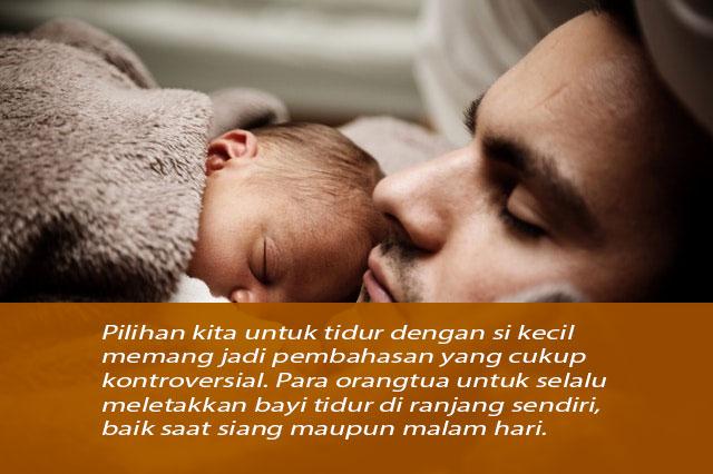 Ayah Tidur Seranjang dengan Bayi Beresiko Kematian, ini Alasannya