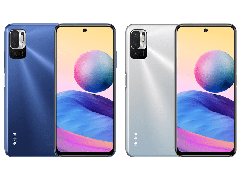 brand Redmi has launched the Redmi Note  Redmi Note 10T with MediaTek Dimensity 700 launched in Russia!