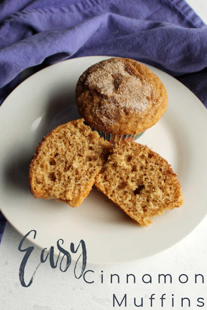 Cinnamon and brown sugar combine in these tasty and easy muffins. They are a perfect way to start your day!
