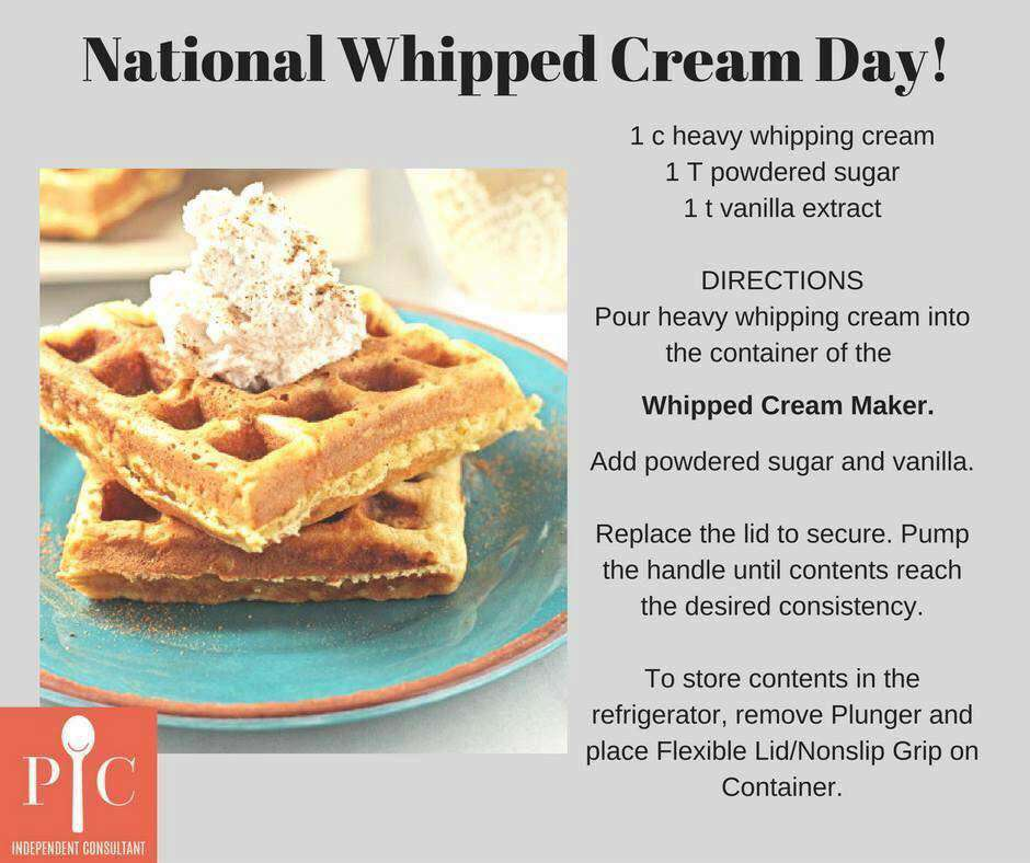National Whipped Cream Day Wishes Images download