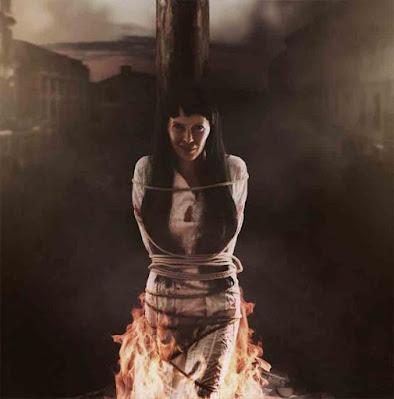 L'esecuzione delle streghe, dopo che la puntura della strega aveva determinato che erano malvagie, era più comunemente ottenuta bruciandole sul rogo.