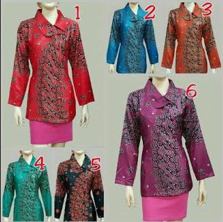 model baju batik etnik terbaru