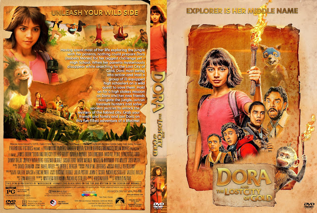 Dora and the Lost City of Gold DVD Cover