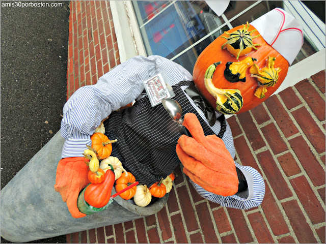 Calabazas Decoradas para Halloween: Heladero