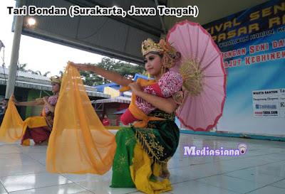 Tari Bondan (Surakarta, Jawa Tengah)