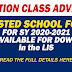 ADJUSTED SCHOOL FORMS are now AVAILABLE FOR DOWNLOAD in the LIS