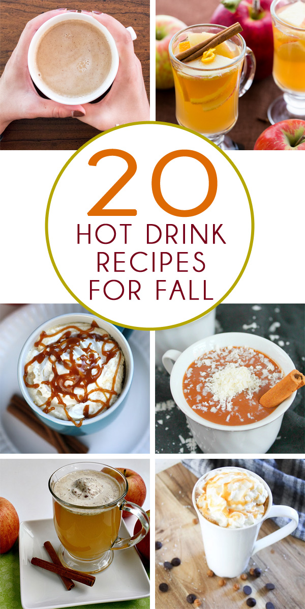 20 Fall Hot Drink Recipes