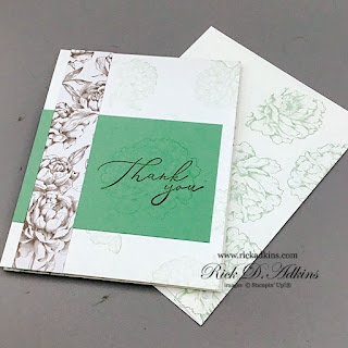 A Quick and simple gift idea using the Prized Peony and Heal your Heart Stamp Sets from Stampin' Up! Click here to learn more!
