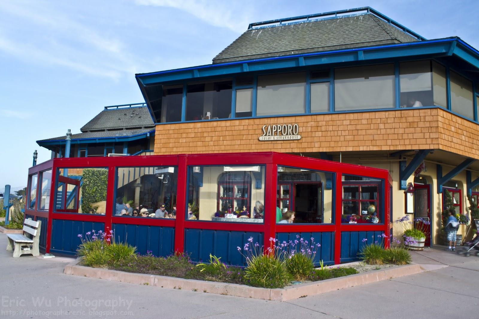 wharf restaurants bay Monterey
