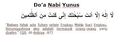 Bacaan Doa Nabi Yunus As dan Artinya