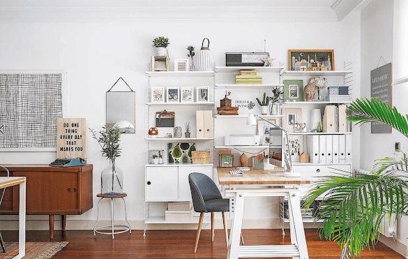 Ide Desain Ruang Kantor Pribadi Sederhana Minimalis Di Rumah Sendiri Sebagai Lokasi Tempat Kerja: Contoh Menbuat Anda Jadi Workcholic Setiap Hari