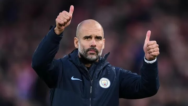 OFFICIAL: Guardiola has been named EPL Manager of the Season