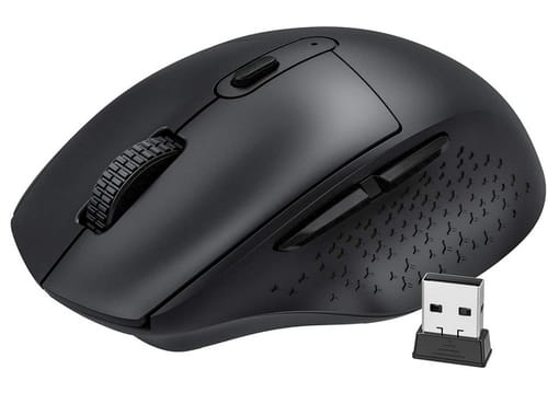 Vic Tech FL Rechargeable Wireless Computer Mouse