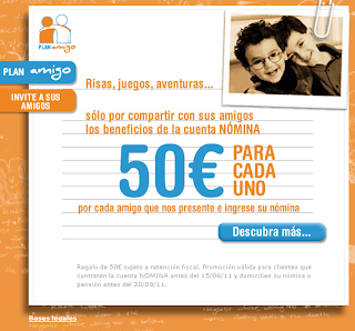 ING DIRECT RECUPERA EL PLAN AMIGO EN 2011