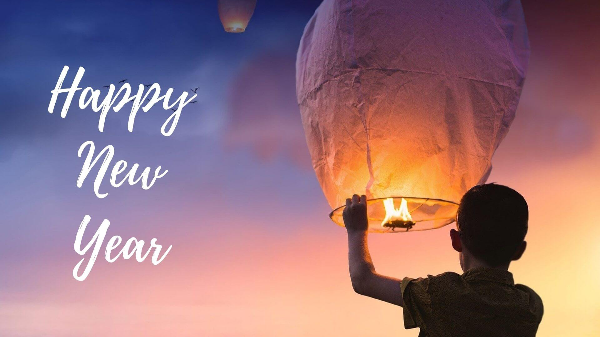 Happy New Year lantern Picture
