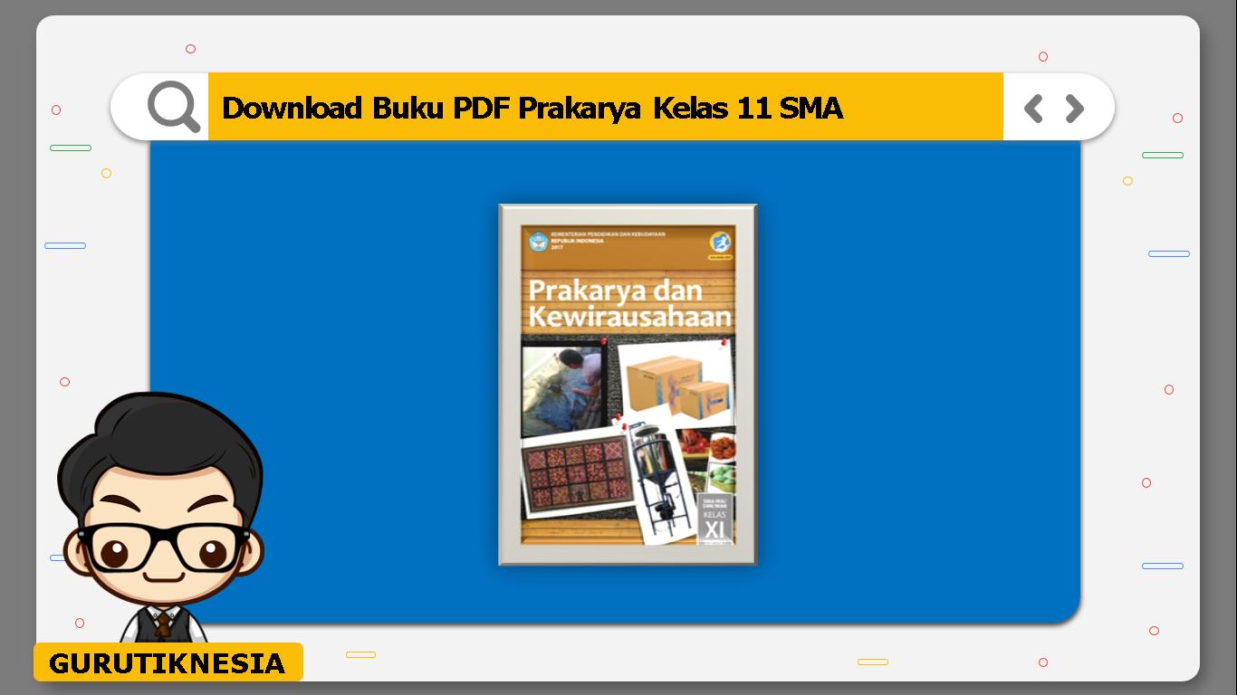 download buku pdf prakarya kelas 11 sma/ma