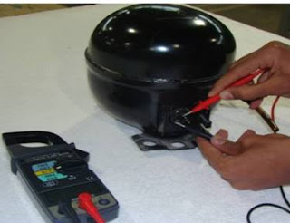 كيفية اختبار موتور الثلاجة
