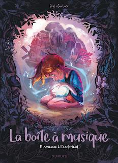 La boîte à musique de Gijé et Carbone (éditions Dupuis)