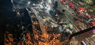 انهيار فندق في الصين كان يستخدم كمنطقة حجر لمصابين بفيروس كورونا