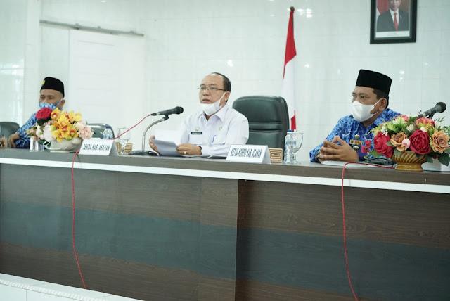 Sekdakab Membuka Sosialisasikan BPJS Ketenagakerjaan bagi PPPK serta Perangkat Desa se Kabupaten Asahan
