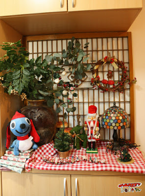 クリスマス玄関飾り