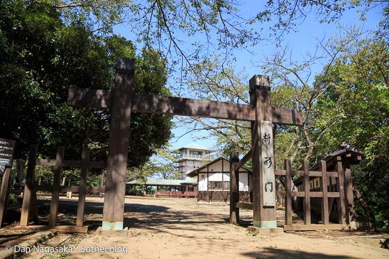 枡形門と展望台