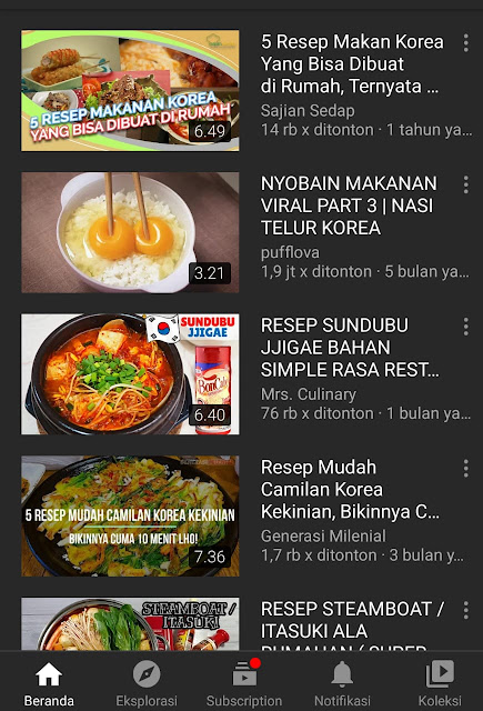 Makanan Korea Hits
