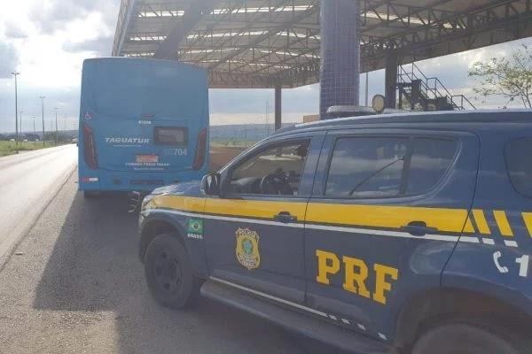 Um Homem foi preso após se masturbar para adolescente em ônibus no DF