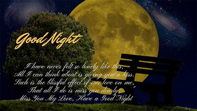 Cute Romantic Good Night Image