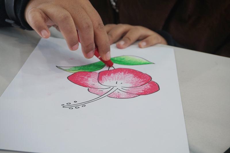 kegiatan mewarnai, coloring book, faber castell