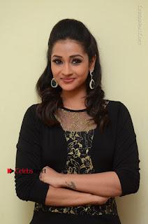 Telugu Actress Manasa Manohar Stills in Black Long Dress at Naku Nene Thopu Turumu Trailer Launch  0062.JPG