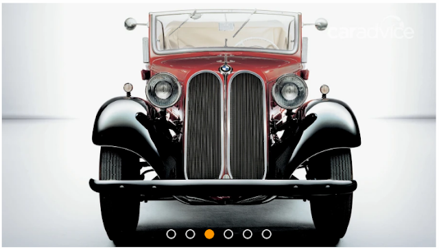 BMW 303 menjadi mobil pertama dengan desain kidney gril